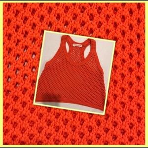 REBECCA TAYLOR OPEN KNIT 🧶 CROPPED TANK TOP